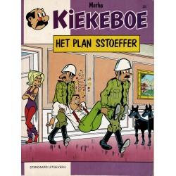 Kiekeboe - 025 Het plan Sstoefer - herdruk 1992