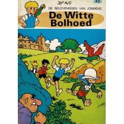Jommeke - 042 De witte bolhoed - herdruk 1979