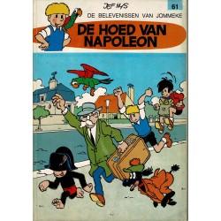 Jommeke - 061 De hoed van Napoleon - herdruk 1980