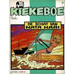Kiekeboe - 007 De schat van Mata Hari - herdruk 1981