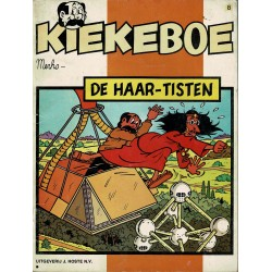 Kiekeboe - 008 De Haar-tisten - herdruk 1985