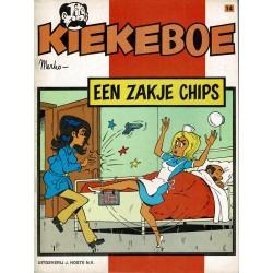 Kiekeboe - 014 Een zakje chips - eerste druk 1980