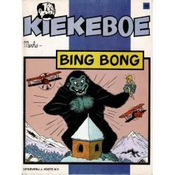 Kiekeboe - 018 Bing Bong - eerste druk 1982