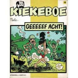 Kiekeboe - 019 Geeeeef acht! - eerste druk 1983