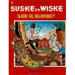 Suske en Wiske - 090 Sjeik El-Rojenbiet - herdruk 1986