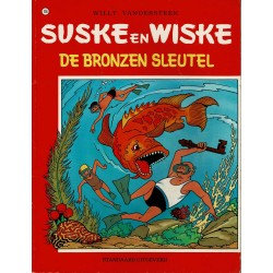 Suske en Wiske - 116 De bronzen sleutel - herdruk 1985