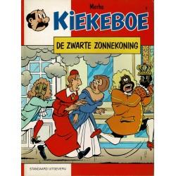 Kiekeboe - 009 De zwarte Zonnekoning - herdruk 1993