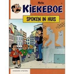 Kiekeboe - 011 Spoken in huis - herdruk 1991