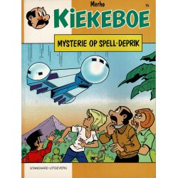 Kiekeboe - 015 Mysterie op Spell-Deprik - herdruk 1997
