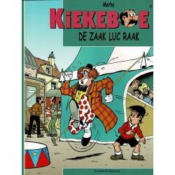 Kiekeboe - 034 De zaak Luc Raak - herdruk 2008
