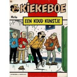 Kiekeboe - 045 Een koud kunstje - eerste druk 1989