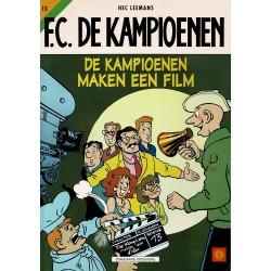 F.C. De Kampioenen - 013 De kampioenen maken een film - eerste druk 2000