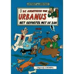 Urbanus - 009 Het gefoefel met de zak - eerste druk 1985