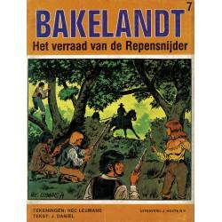 Bakelandt - 007 Het verraad van de Repensnijder - eerste druk 1980