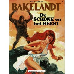 Bakelandt - 036 De schone en het beest - eerste druk 1987