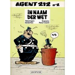 Agent 212 - 002 In naam der wet - herdruk 1994