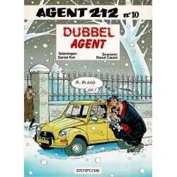 Agent 212 - 010 Dubbel agent - herdruk 1995