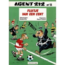 Agent 212 - 011 Fluitje van een cent - herdruk 1994