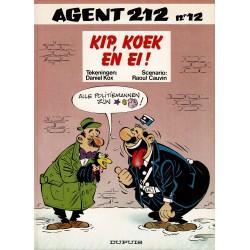 Agent 212 - 012 Kip, koek en ei! - herdruk 1994