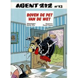 Agent 212 - 013 Boven de pet van de wet - eerste druk 1991