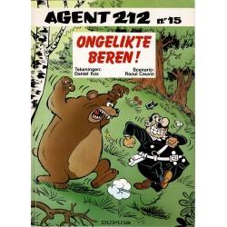 Agent 212 - 015 Ongelikte beren! - eerste druk 1993