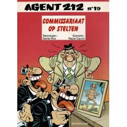 Agent 212 - 019 Commissariaat op stelten - eerste druk 1997