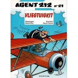 Agent 212 - 021 Vliegtuigkit - eerste druk 2000