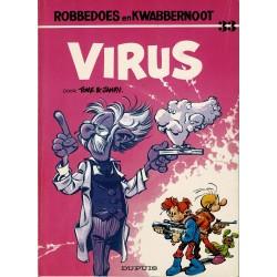 Robbedoes en Kwabbernoot - 033 Het virus - eerste druk 1984