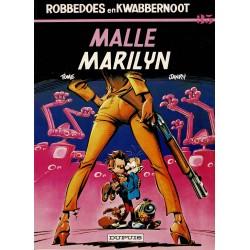Robbedoes en Kwabbernoot - 035 Malle Marilyn - eerste druk 1985