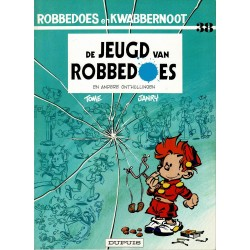 Robbedoes en Kwabbernoot - 036 De jeugd van Robbedoes - eerste druk 1987