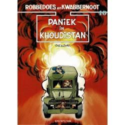 Robbedoes en Kwabbernoot - 40 Paniek in Khoudistan - eerste druk