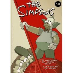 The Simpsons - De Stripuitgeverij - 013 Ze sleutelen aan Homer's brein! / Ik krijg het niet binnen - eerste druk 2000