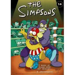 The Simpsons - De Stripuitgeverij - 014 Maak je klaar voor het gevecht! / Smithersens! - eerste druk 2001