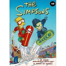 The Simpsons - De Stripuitgeverij - 016 De grote Springfield Frink-out / Burns op borden - eerste druk 2001