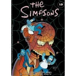 The Simpsons - De Stripuitgeverij - 018 De vergeetachtige rebel / Verslaafd aan donuts - eerste druk 2001