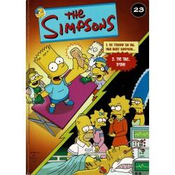 The Simpsons - De Stripuitgeverij - 023 De triomf en val van Bart Simpson / Tic Tac d'oh - eerste druk 2003