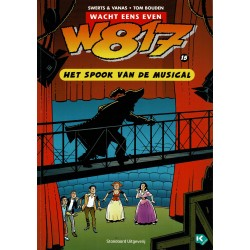 W817 - 015 Het spook van de musical - eerste druk 2007