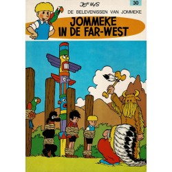 Jommeke - 030 Jommeke in de Far-West - herdruk 1979