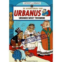 Urbanus - 012 Urbanus moet trouwen - herdruk 2008
