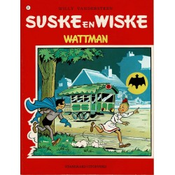 Suske en Wiske - 071 Wattman - herdruk - rode reeks