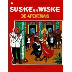 Suske en Wiske - 077 De apekermis - herdruk - rode reeks