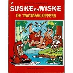 Suske en Wiske - 088 De tamtamkloppers - herdruk - rode reeks