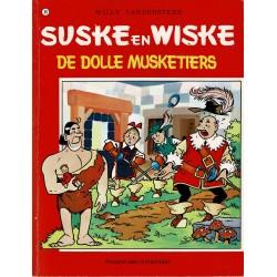 Suske en Wiske - 089 De dolle Musketiers - herdruk - rode reeks