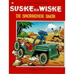 Suske en Wiske - 093 De snorrende snor - herdruk - rode reeks