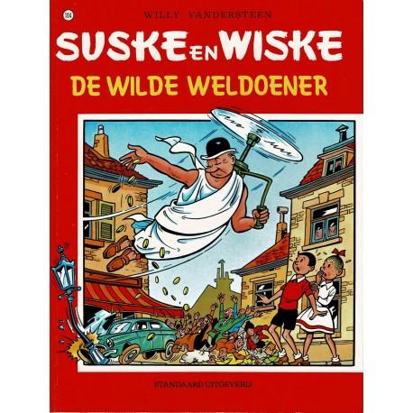 Suske en Wiske - 104 De wilde weldoener - herdruk - rode reeks