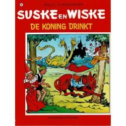 Suske en Wiske - 105 De koning drinkt - herdruk - rode reeks