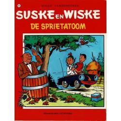 Suske en Wiske - 107 De sprietatoom - herdruk - rode reeks