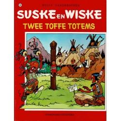 Suske en Wiske - 108 Twee toffe totems - herdruk - rode reeks