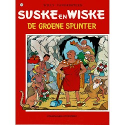 Suske en Wiske - 112 De groene splinter - herdruk - rode reeks