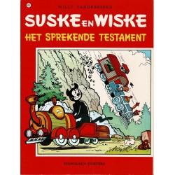 Suske en Wiske - 119 Het sprekende testament - herdruk - rode reeks